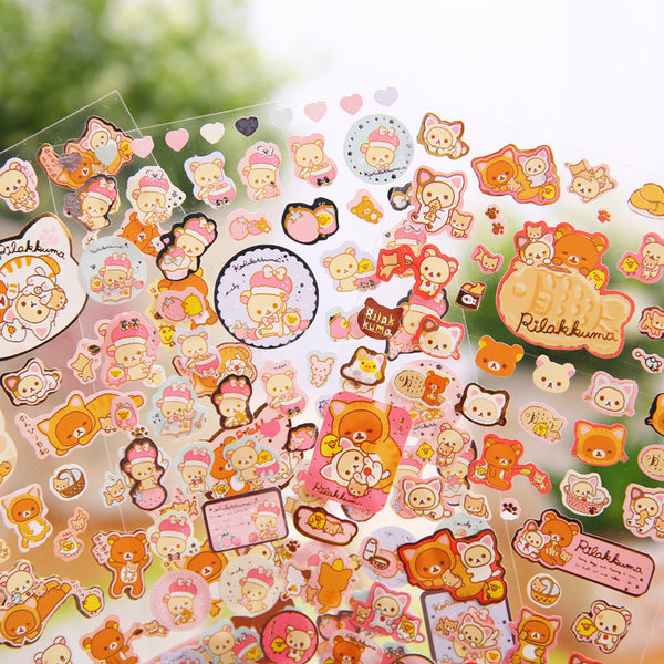 Rilakkuma Stickers San-x Stationery 3