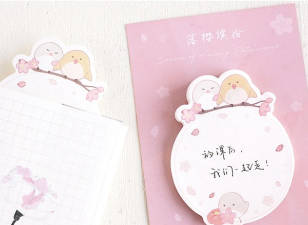 Spring Blossom Sticky Notes