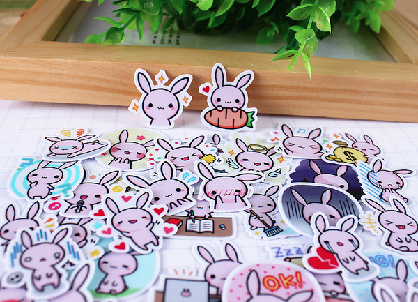 Kawaii Japanese Rabbit Stickers 3