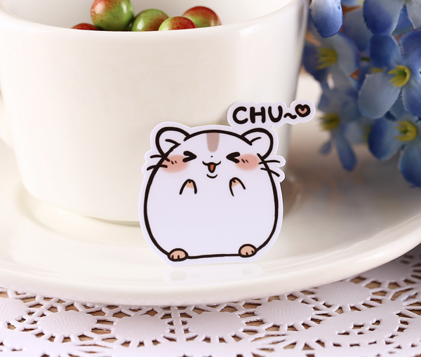 Kawaii Japanese Hamster Stickers 4