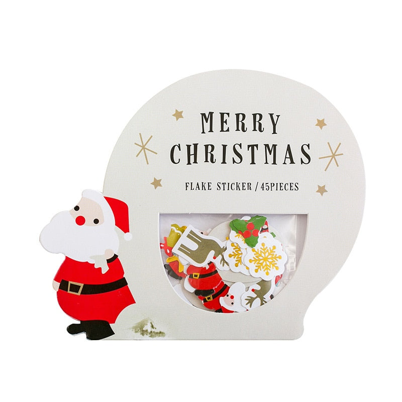 Merry Christmas Paper Stickers