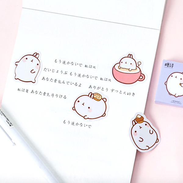 Molang Paper Stickers