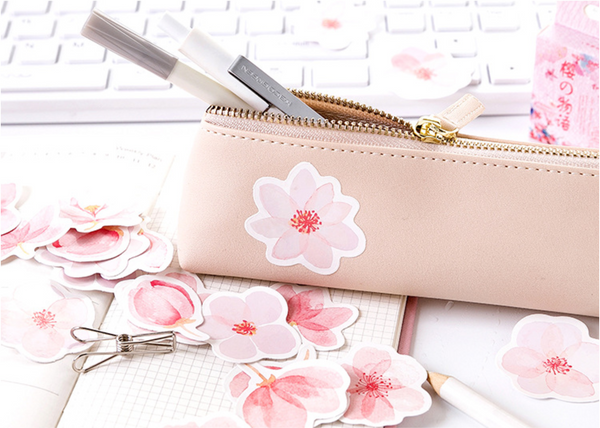 Cherry Blossom Paper Stickers