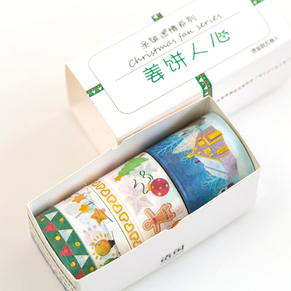 Let It Snow Washi Tape Set