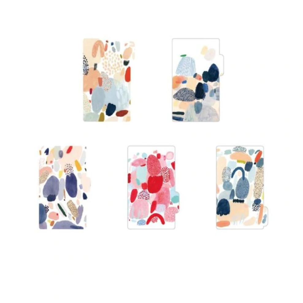 Abstract Art Notebook Dividers