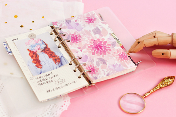 Tropical Notebook Dividers