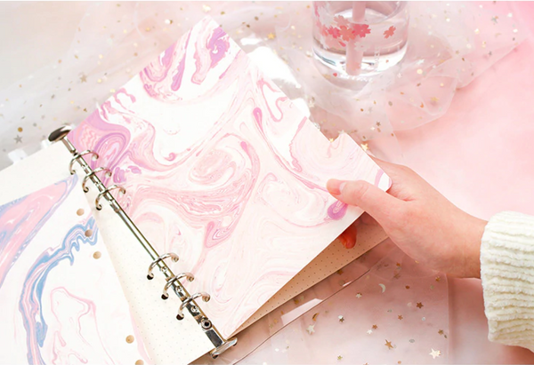 A5/A6 Life is Art Notebook Dividers