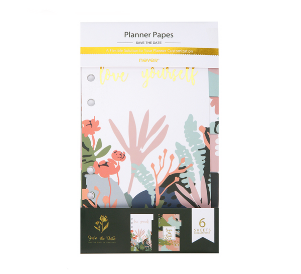 Be The Best Of You Planner Dividers