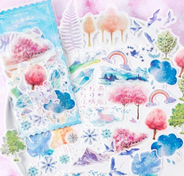 Magic Land Paper Stickers
