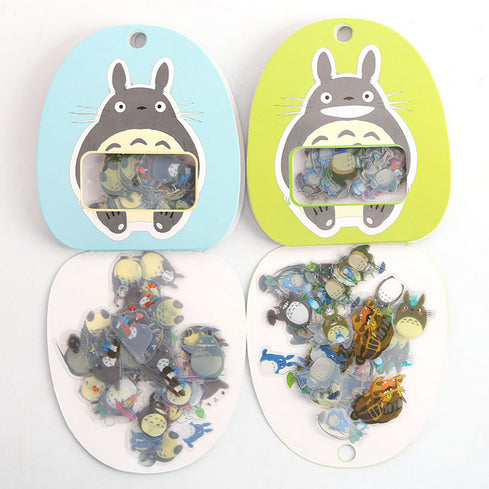 My Neighbor Totoro Plastic Stickers 3