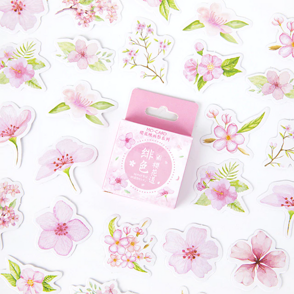 Almond Blossom Stickers