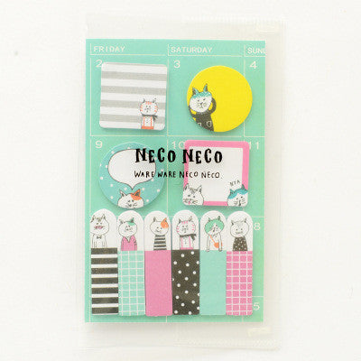 Animal Party Sticky Memo Set 8