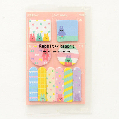 Animal Party Sticky Memo Set 9