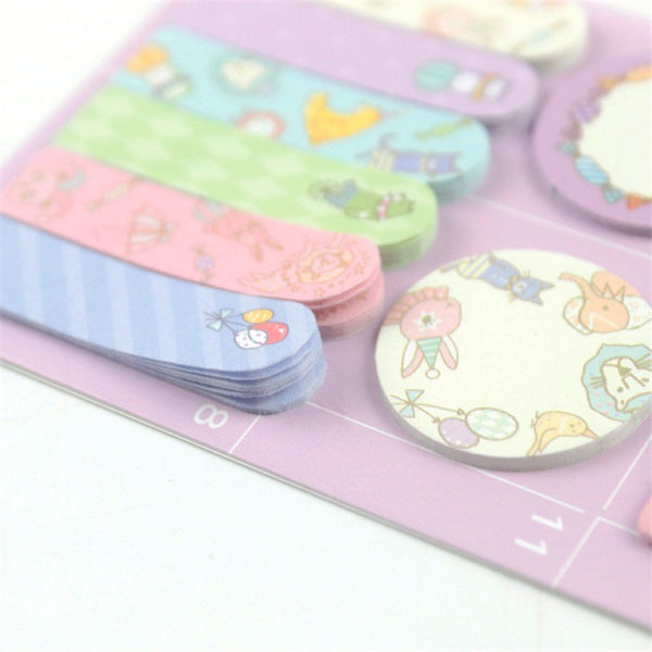 Animal Party Sticky Memo Set 5