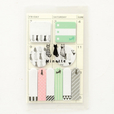 Animal Party Sticky Memo Set 10