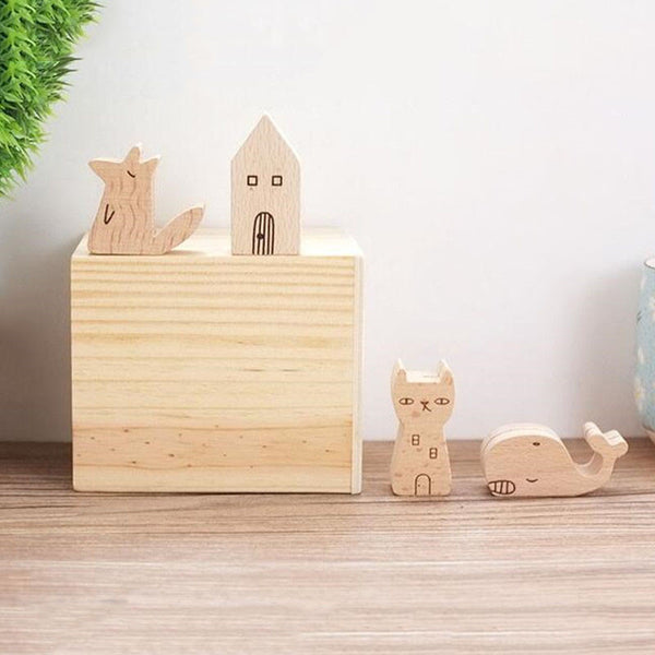 Yume Wooden Memo Holder 8