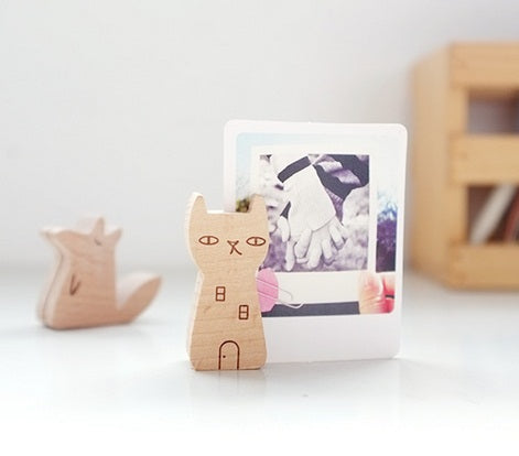 Yume Wooden Memo Holder 9