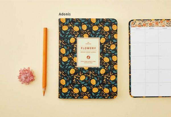Ardium Flowery Journal Adonis