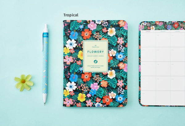 Ardium Flowery Journal Tropical