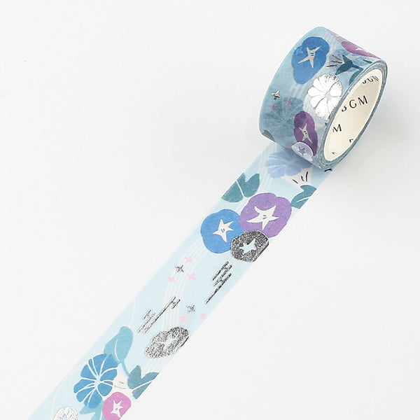 BGM Floral World Masking Tape - Morning Glory
