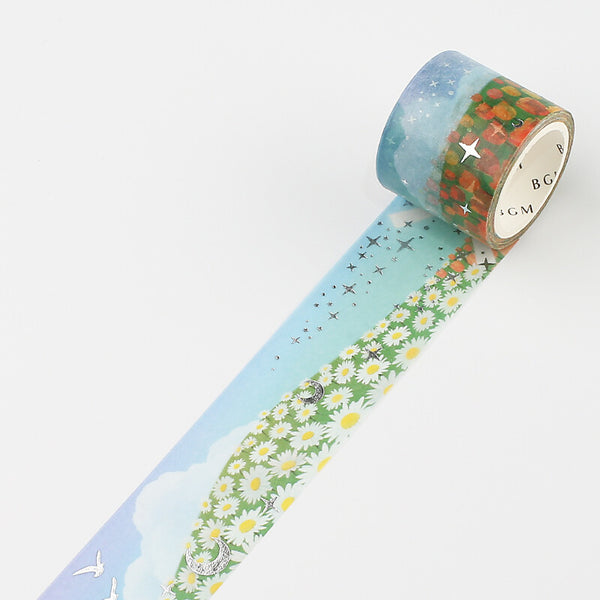BGM Magic Land Masking Tape - Flower Fields
