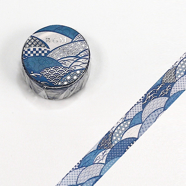BGM Masking Tape - Wave Pattern