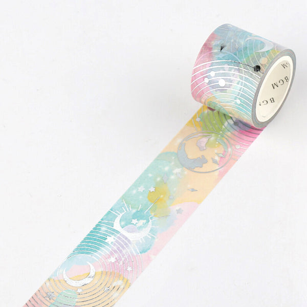 BGM Glowing Universe Masking Tape - Fantasy Sky