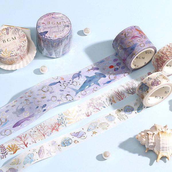 BGM Washi Tape - Ocean Series