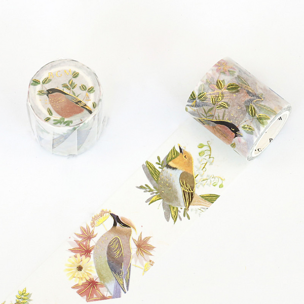 BGM Washi Tape - Birds