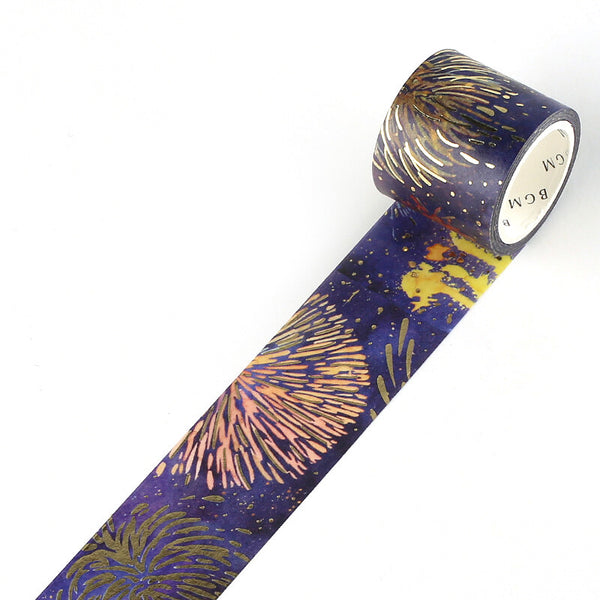 BGM Washi Tape - Summer Night Fireworks