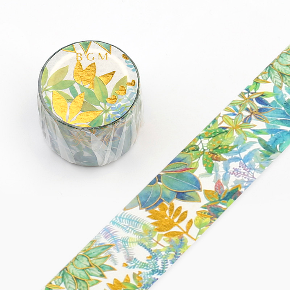 BGM Washi Tape - Jungle