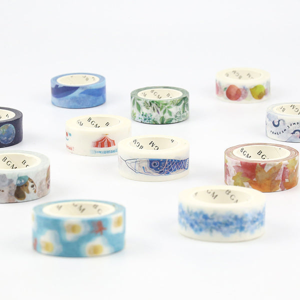 BGM Washi Tape - Leaves
