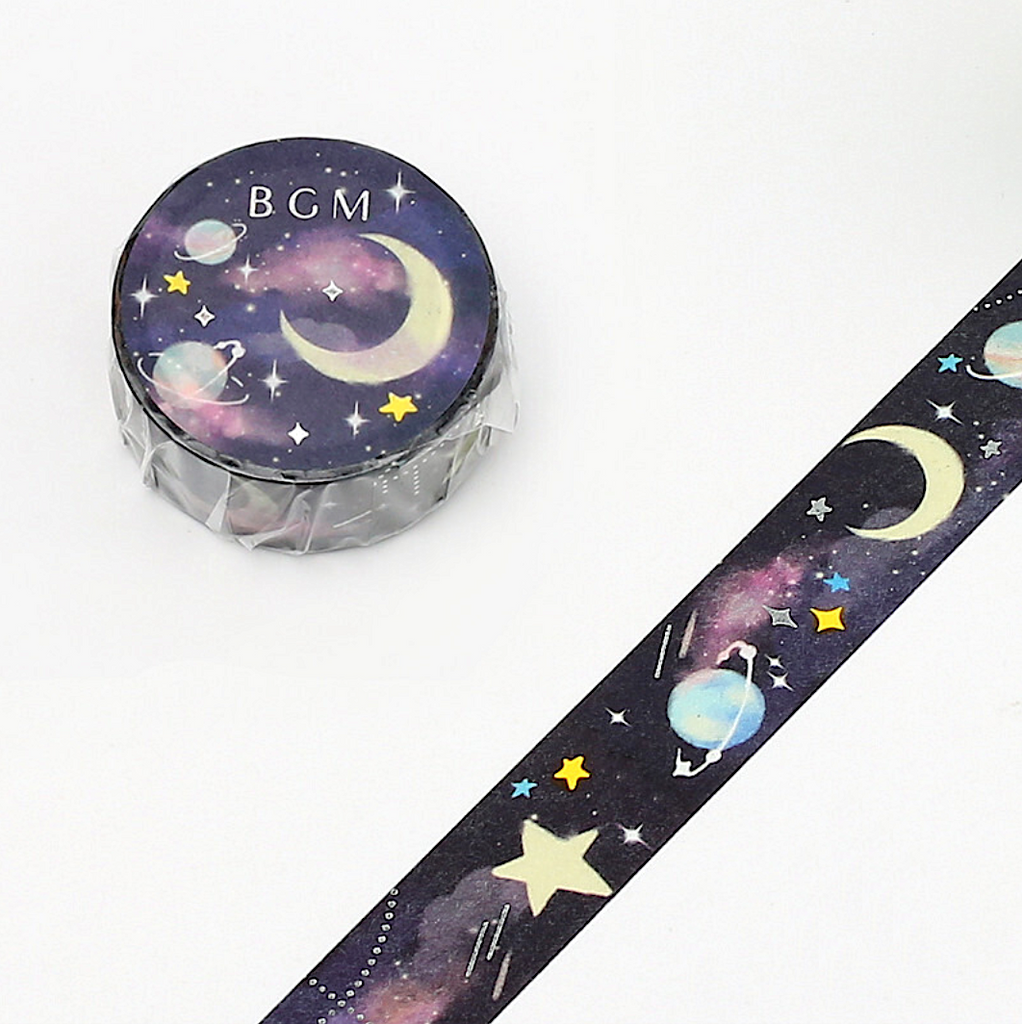 BGM Washi Tape - Night Dream