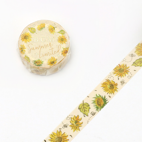 BGM Washi Tape - Sunflower