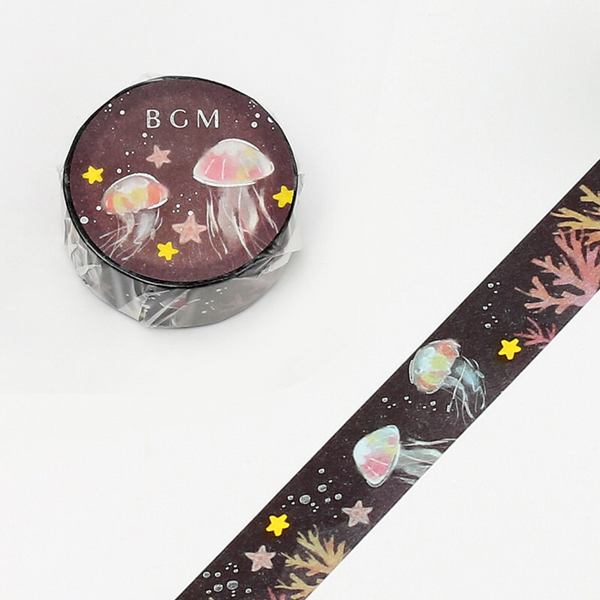BGM Washi Tape - Jellyfish