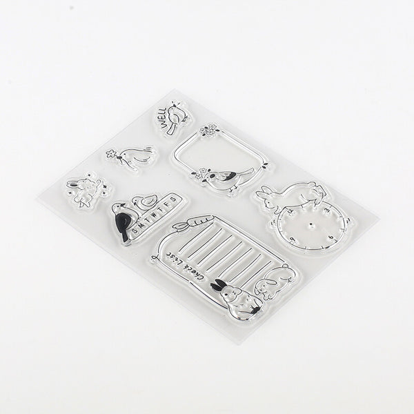 BGM Clear Stamp - Forest Animals