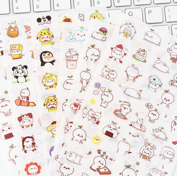 Cute Budding Pop Stickers 3