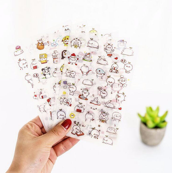 Cute Budding Pop Stickers 2