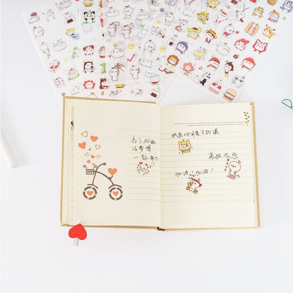 Cute Budding Pop Stickers 15