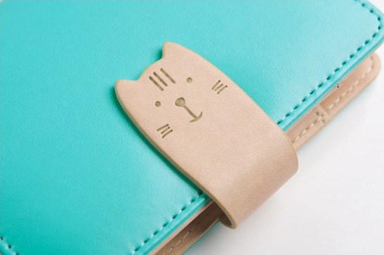 Cat Closure Leather Personal Planner 5