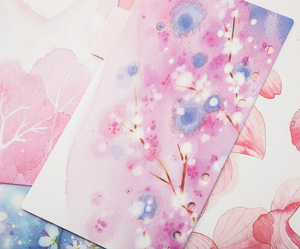Cherry Blossom Planner Dividers 11