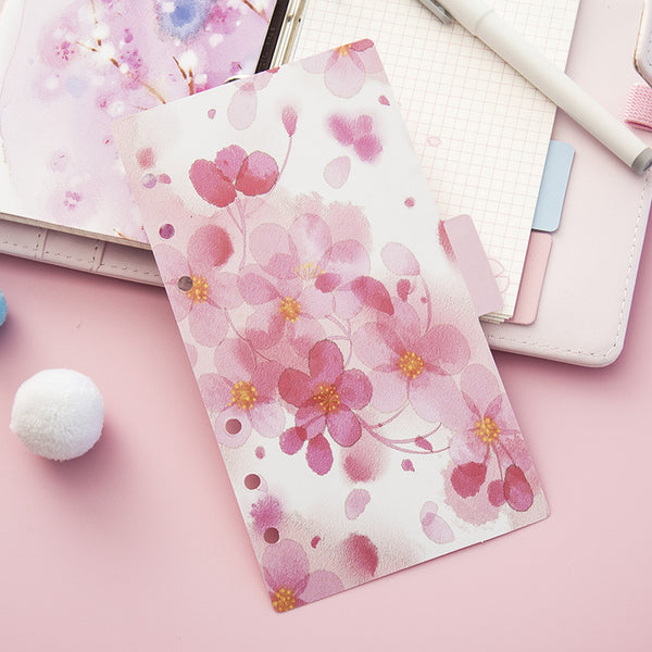Cherry Blossom Planner Dividers 2