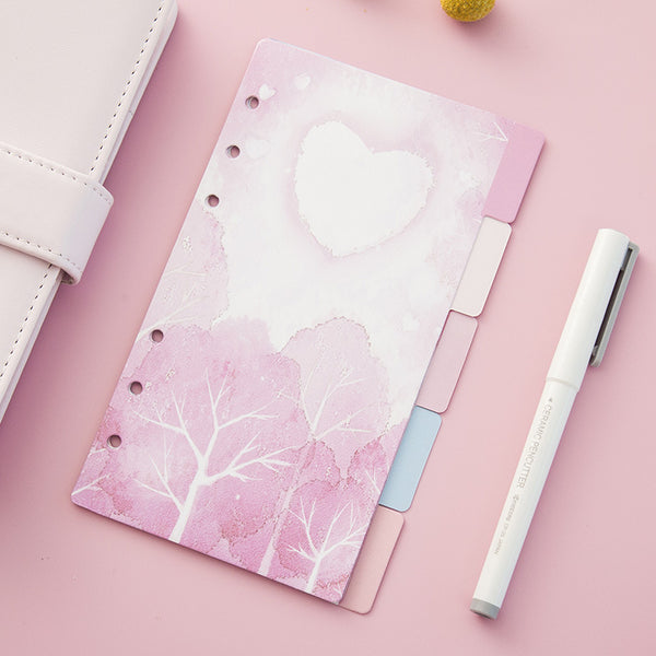 Cherry Blossom Planner Dividers 4