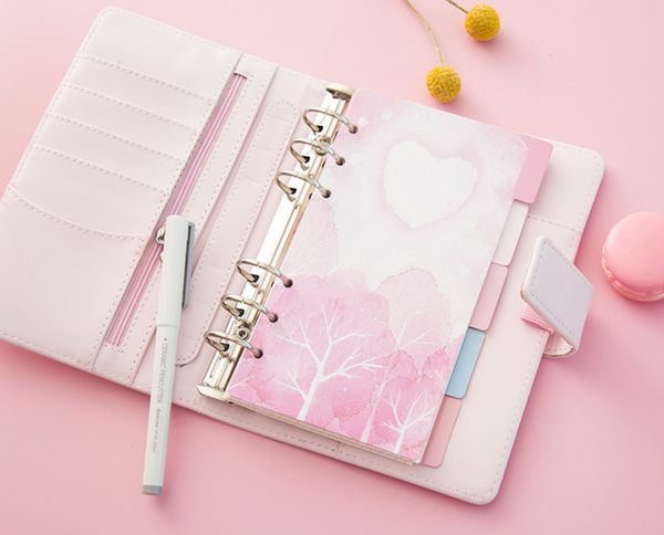 Cherry Blossom Planner Dividers 7