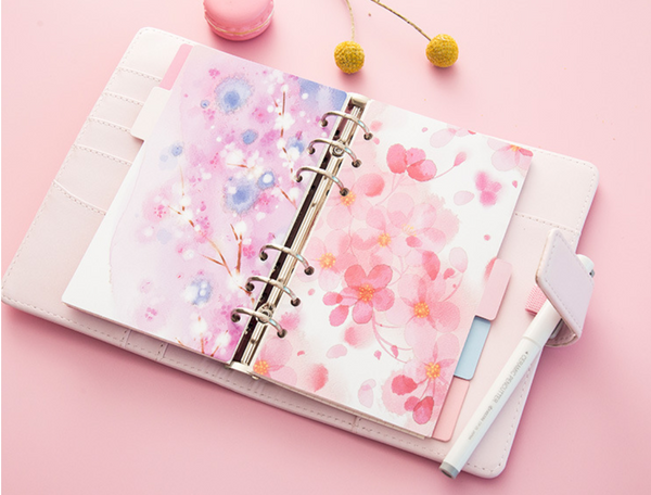 Cherry Blossom Planner Dividers 6