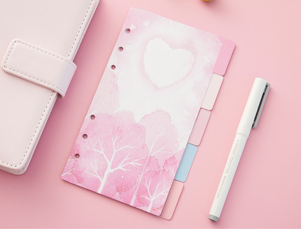 Cherry Blossom Planner Dividers 8