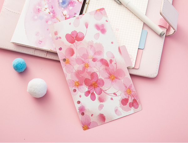Cherry Blossom Planner Dividers 9
