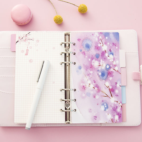 Cherry Blossom Planner Dividers 3