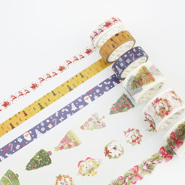 Christmas Joy Masking Tape 2