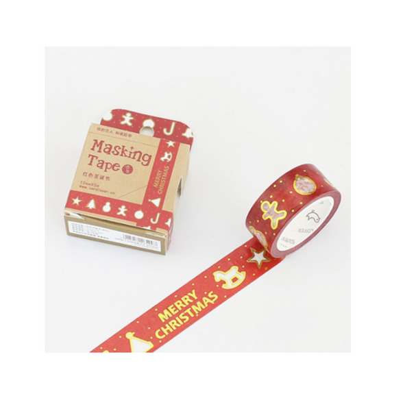Christmas Joy Masking Tape 25